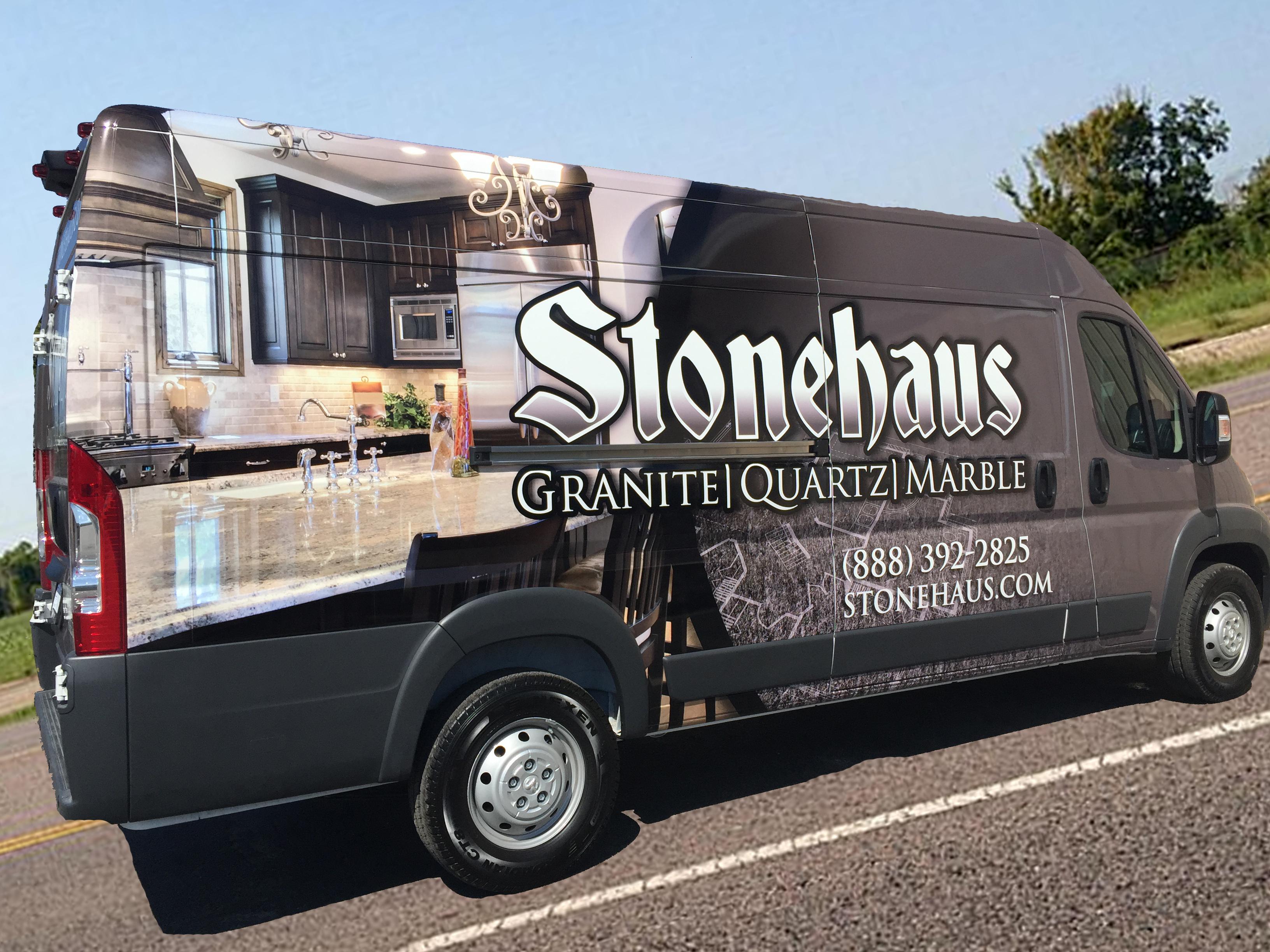 stonehaus van cut out